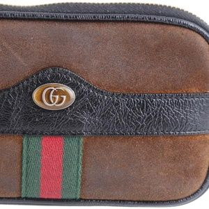 Gucci Suede Ophidia Belted iPhone Case
